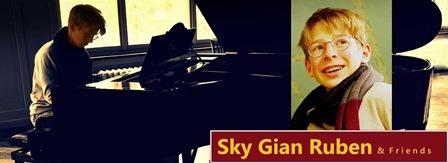 Piano-Konzert Sky Gian Ruben