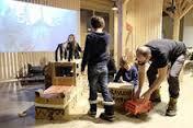 Kinderworkshop: Modell Bahndorf Berg�n