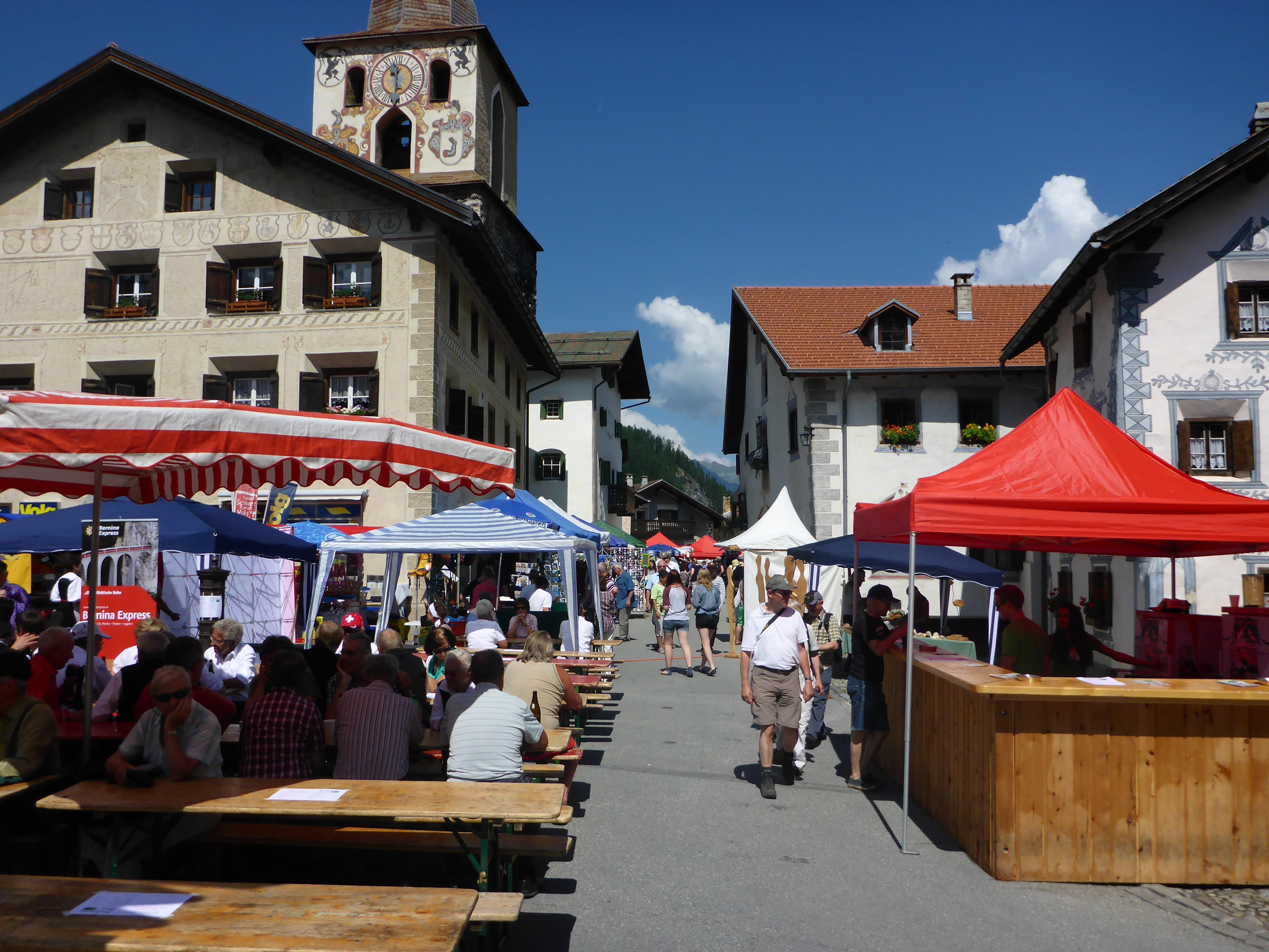 Dorfmarkt Berg�n