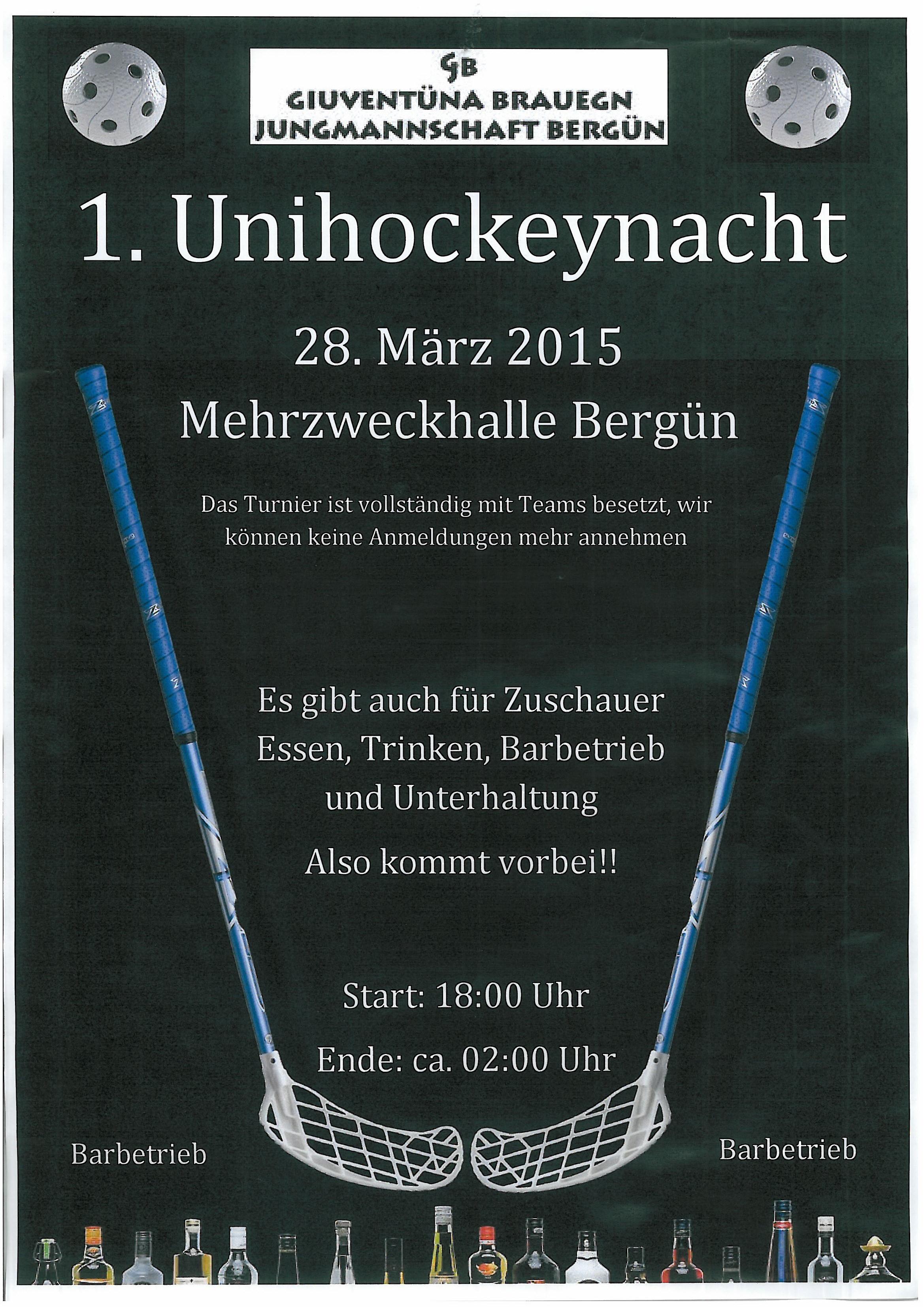1. Unihockeynacht