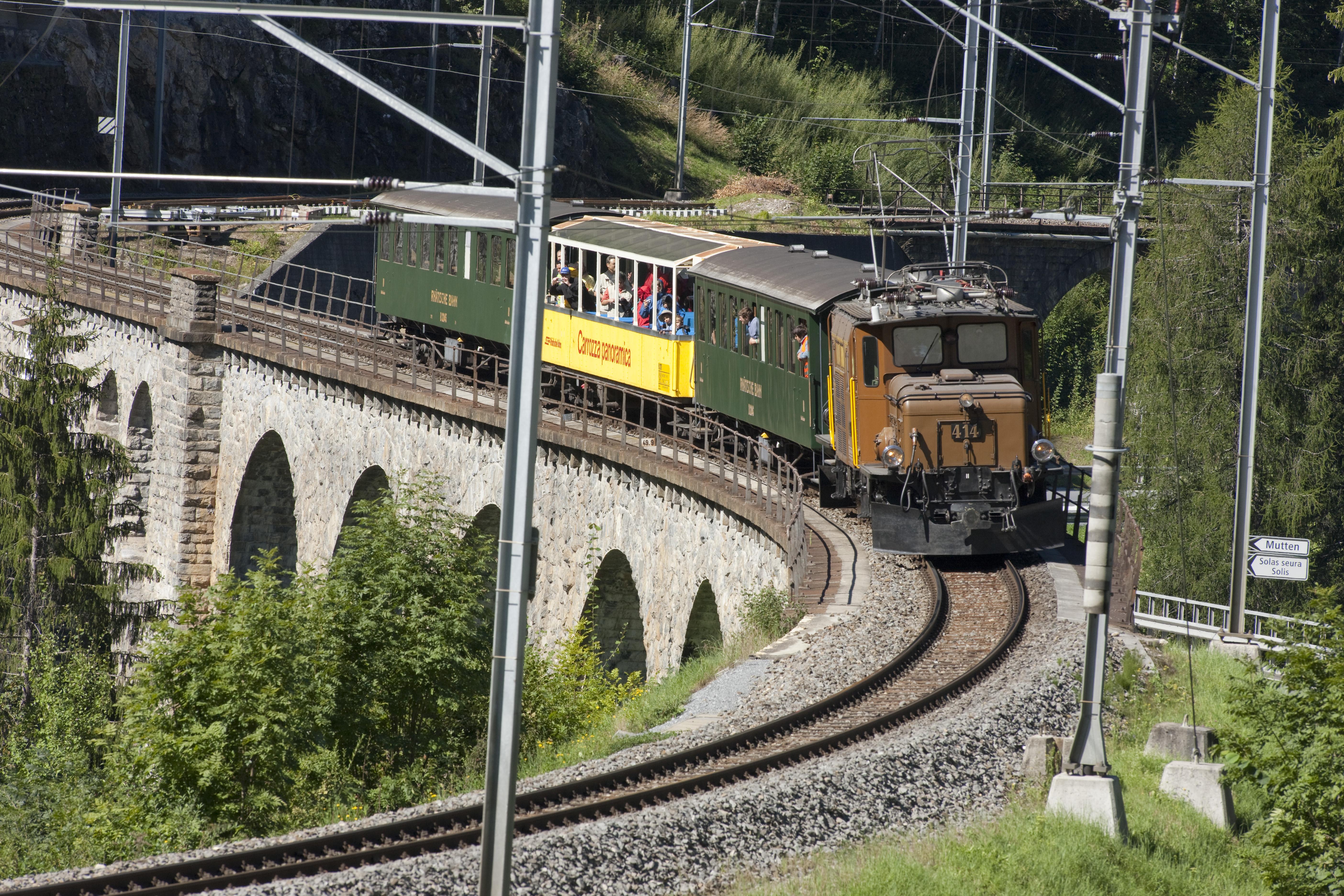 Exoten der Rh�tischen Bahn