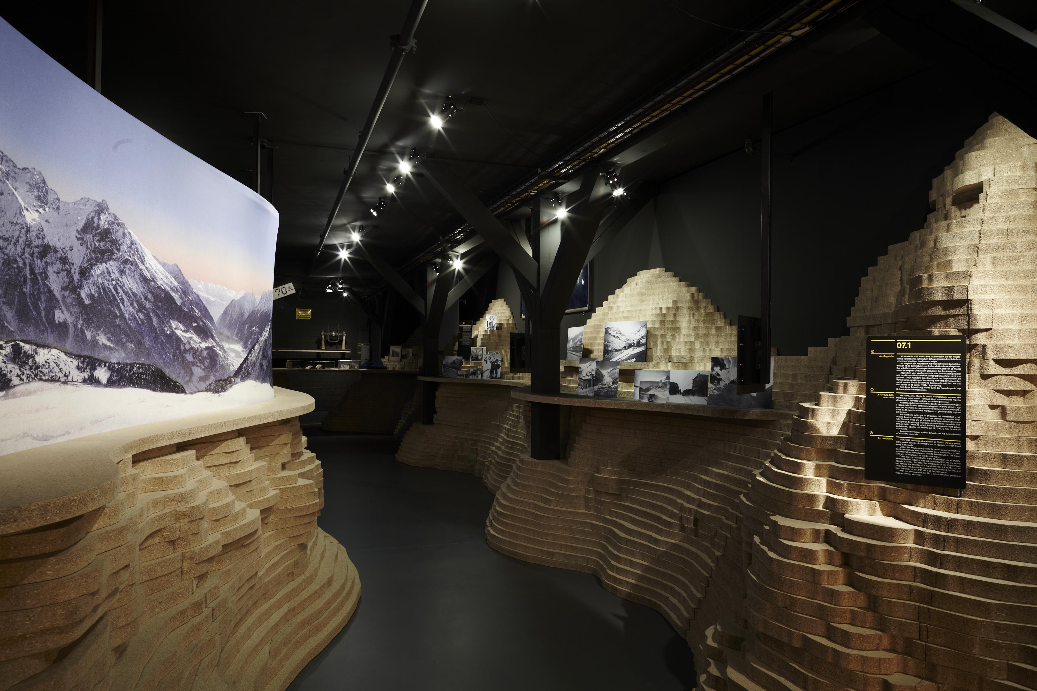 �ffentliche F�hrungen Bahnmuseum Albula