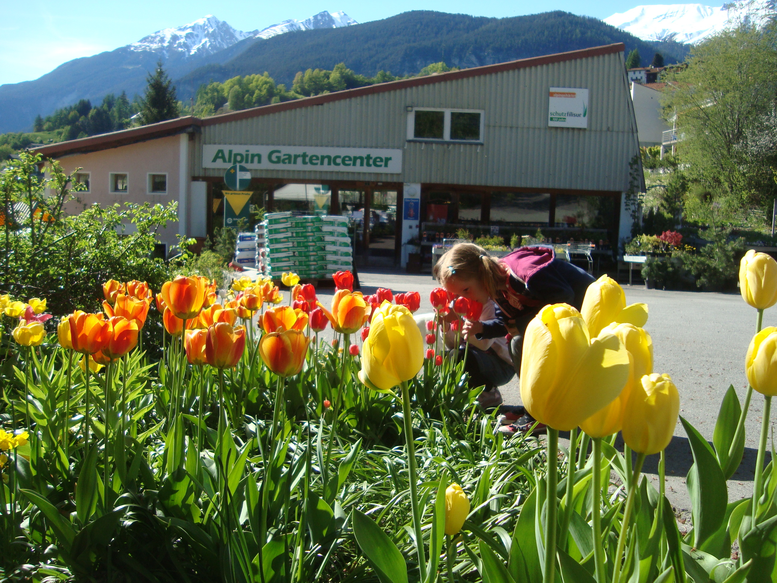 Besichtigung Alpin G�rtnerei Filisur