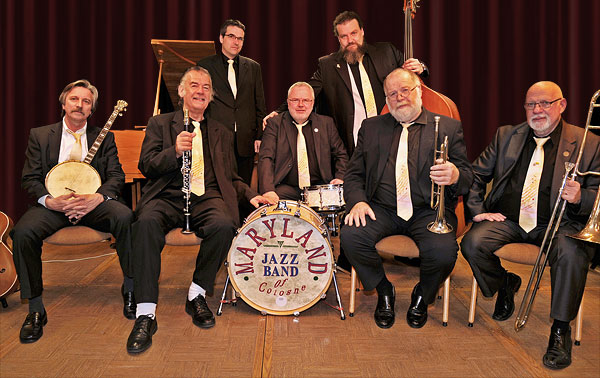 Jazzlunch mit The Maryland Jazzband of Cologne