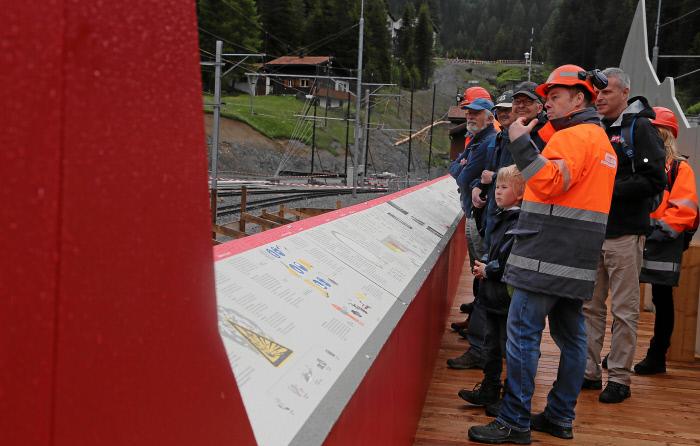 �ffentliche F�hrungen Albulatunnel II