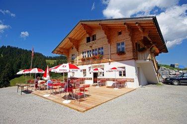 Bärgdorfet Alp Lombach.