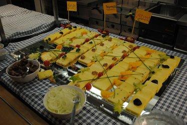 Jäger Party mit Raclette -Fondue Chilbi