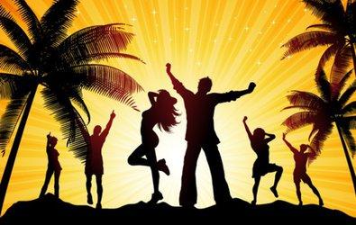 Beach Party mit DJ Jumping Jack Flash