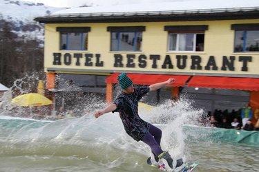 Waterslide Contest