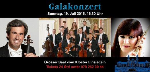 Musik im Kloster 2015: Galakonzert mit Pierre Cochand