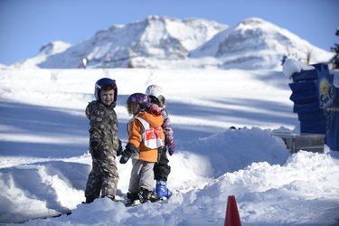 Kinder Skirennen